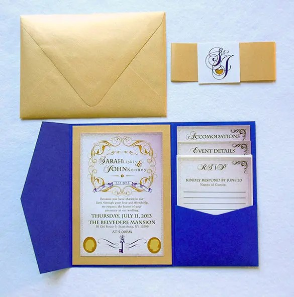 Wedding Invitation Templates Psd Jpg
