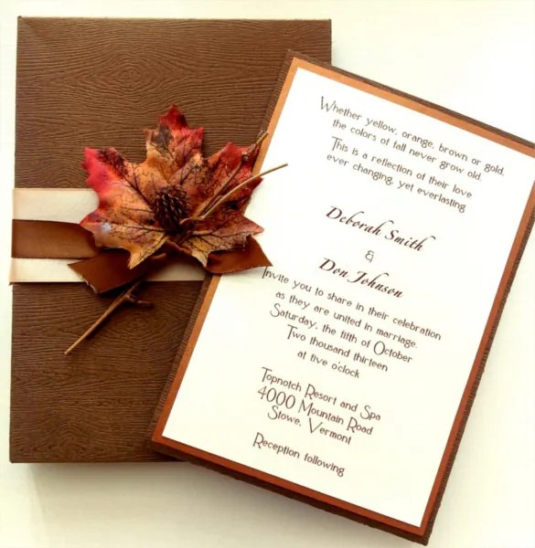 Wedding Card Design Cream Rectangle Paper Clic Elegant Layout Inspiring Sample Reception Cards Wording