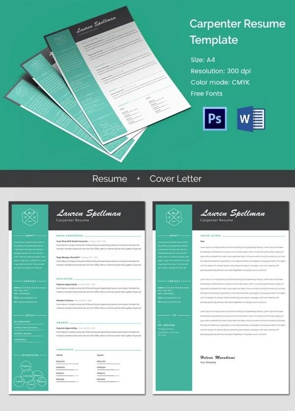 51 Creative Resume Templates Free PSD EPS Format Download Free Amp Premium Templates