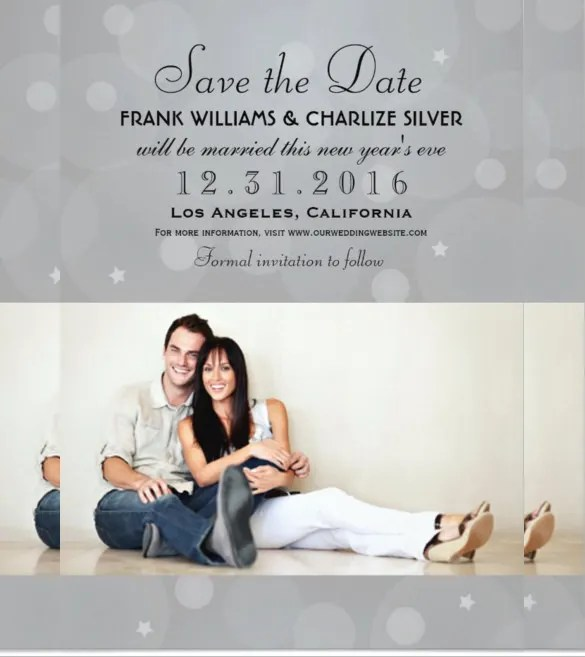 24 Photo Wedding Invitations Ai Psd Indesign Word