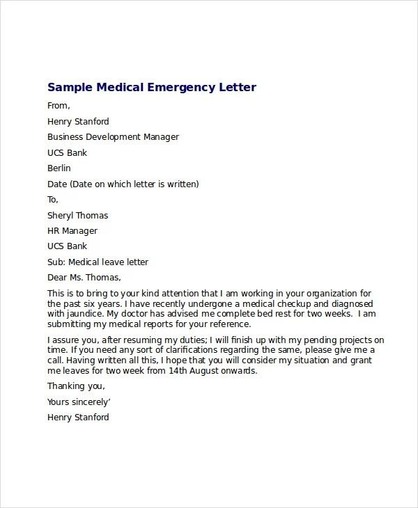 medical release letter