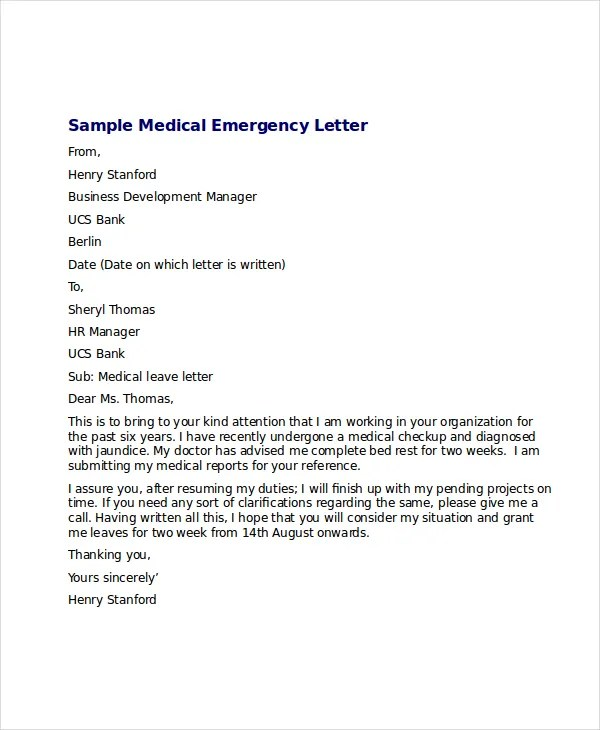 Emergency Vacation Request Letter Sere Selphee Co