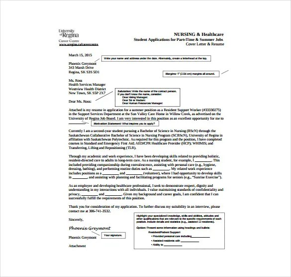 Professional Rn Case Manager Cover Letter Sle