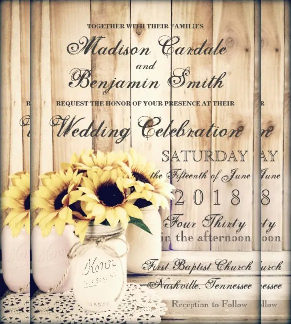 Full Size Of Templates Free Printable Country Western Wedding Invitations In Conjunction With Style