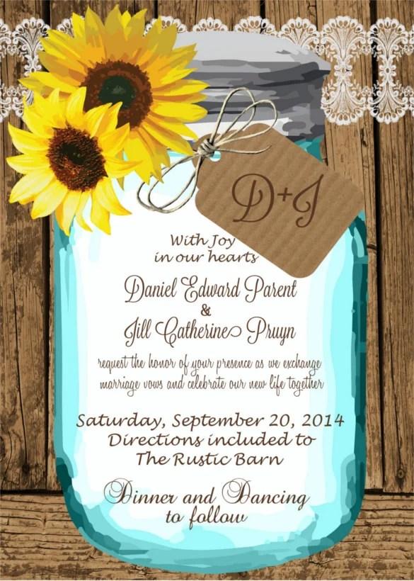 Printable Wedding Invitations
