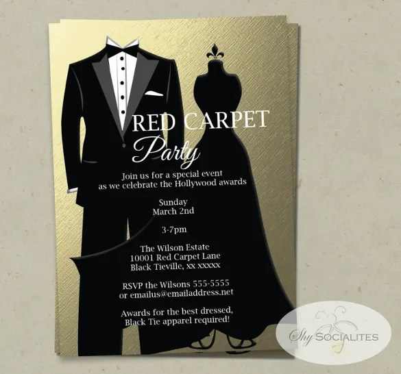 Invitation Letter For Award Ceremony Template – Wedding ...