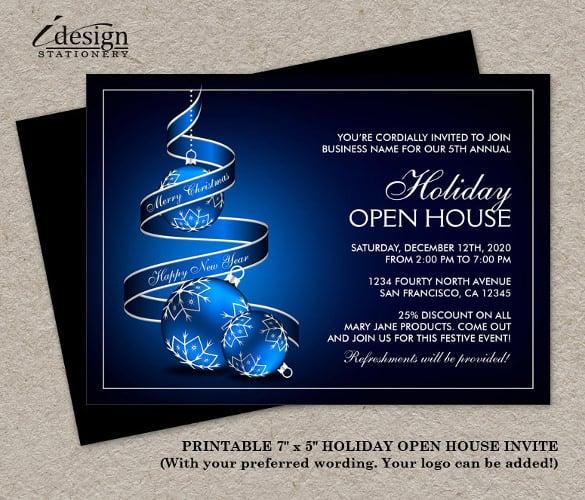 22 Open House Invitation Templates Free Sample Example