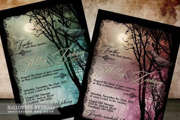 Digital Printable Wedding Invitation