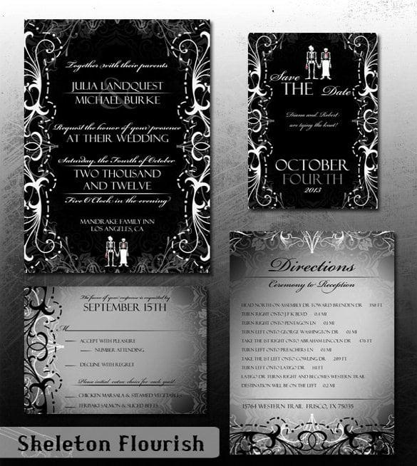 Printable Invitations Halloween