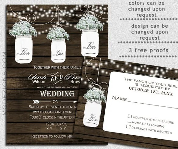 Cowboy Wedding Invitations