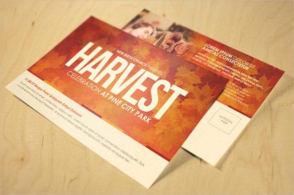 20 Church Postcard Templates Free Sample Example