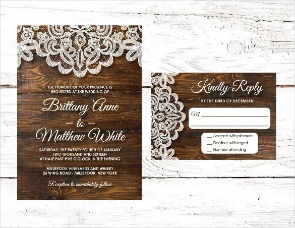 15 Second Marriage Wedding Invitations Psd Ai Eps