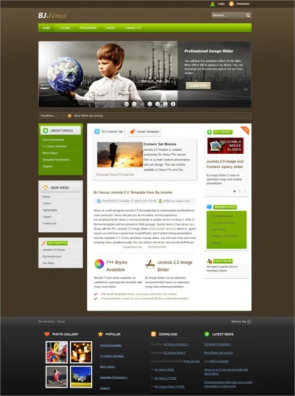 Many teachers, professors, and educators benefit from having their own website by being able. 19 Personal Joomla Themes Templates Free Premium Templates