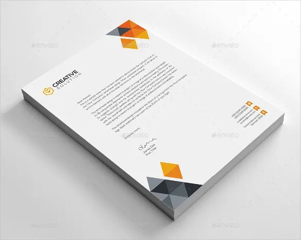 Business Letterhead Template 25 Free PSD EPS AI Illustrator Format Download Free