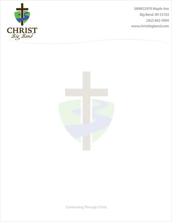 Church letterhead templates free download spiritdancerdesigns Images
