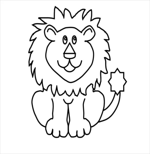 Circus Coloring Worksheets