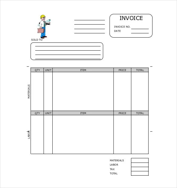 Invoice Format Template - 50+ Free Word, PDF Documents ...