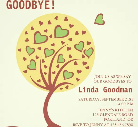 Templates Of Farewell Party Invitation Cogimbous - Party invitation template: going away party invitation templates