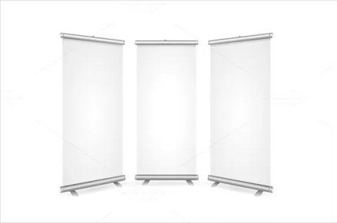 Rollup Blank Banner Sample Template