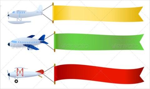 Travel Blank Banner Sample Template