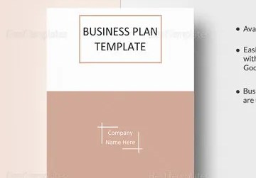 HD Decor Images » Business Plan Templates   43  Examples in Word   Free   Premium     One Page Business Plan Word