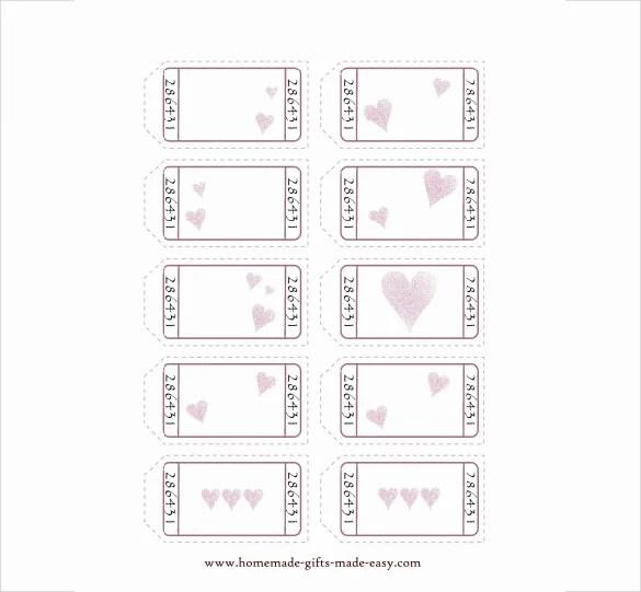 25 Love Coupon Templates PSD AI EPS PDF Free