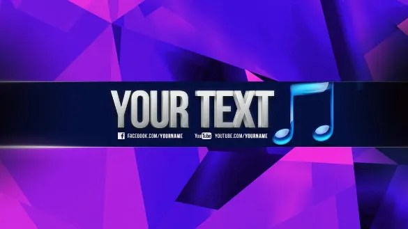 11  Free Youtube Banner Templates     Free Sample  Example  Format     Colorful Free Sample Youtube Banner Template