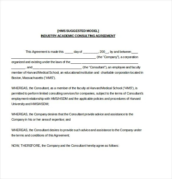 19 Consulting Agreement Templates Docs Pages Free Amp Premium Templates
