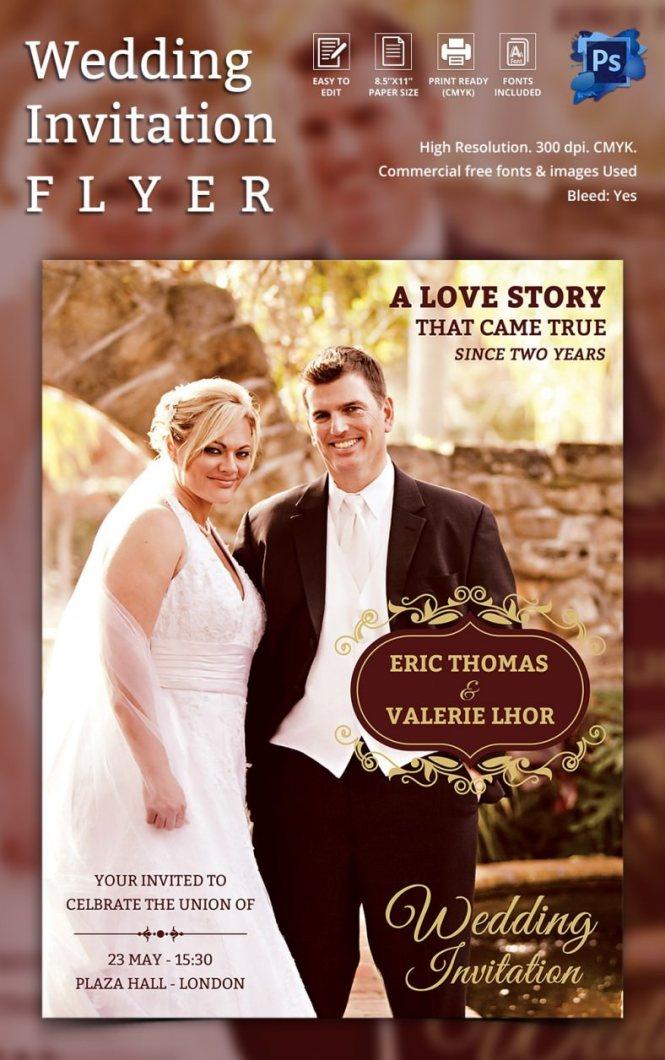Wedding Card Design Template Photograph Invitation