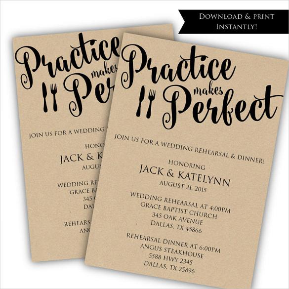 Wedding Gift Receipt Etiquette : Wedding Rehearsal Dinner Invitation Template Free Wedding ...