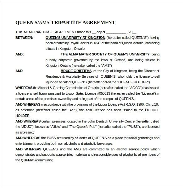 16 Memorandum Of Agreement Templates PDF DOC Free Amp Premium Templates