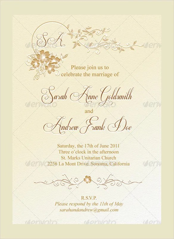 Dwyane Wade And Gabrielle Union Wedding Invitation was nice invitations layout