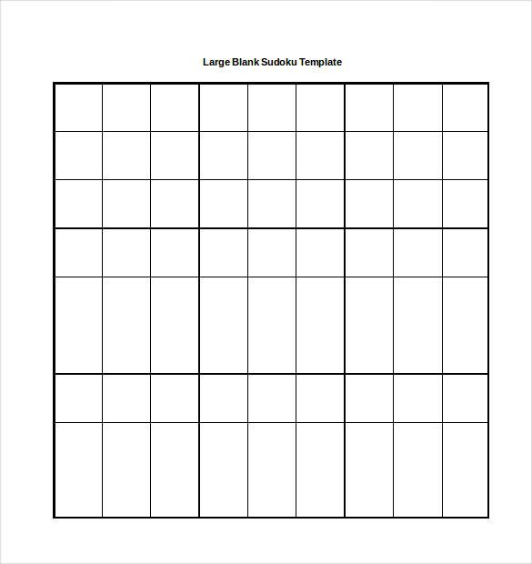 15+ Word Sudoku Templates Free Download | Free & Premium ...