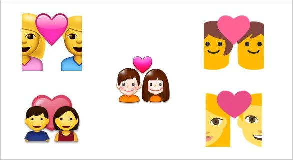 Download 21+ Express your Love with these Heart Emoji Symbols ...
