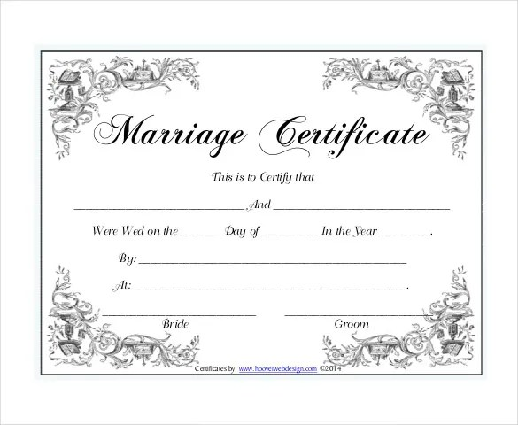 Marriage certificate illinois marriage certificate yelopaper Images