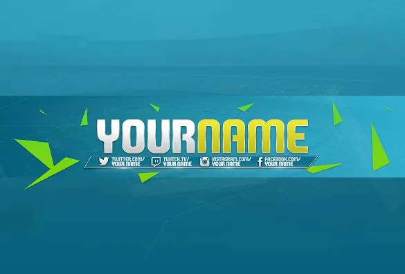 Youtube Channel Art Template - 47+ Free PSD, AI, Vector ...