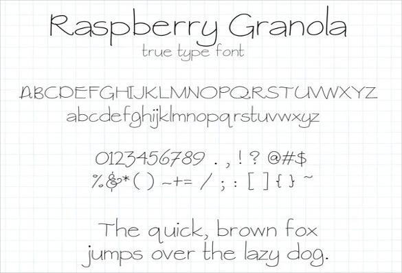 Download 23+ HandWritten Fonts -TTF, OTF | Free & Premium Templates