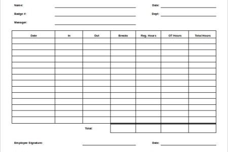 timesheet template » Best free resume templates | Best resume templates