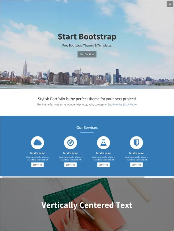 25 Single Page Website Themes Amp Templates Free Amp Premium Templates