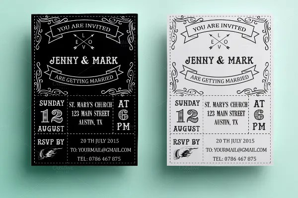 40 Creative Wedding Invitation Cards You Need To See For Inspiration PSD AI Free Premium
