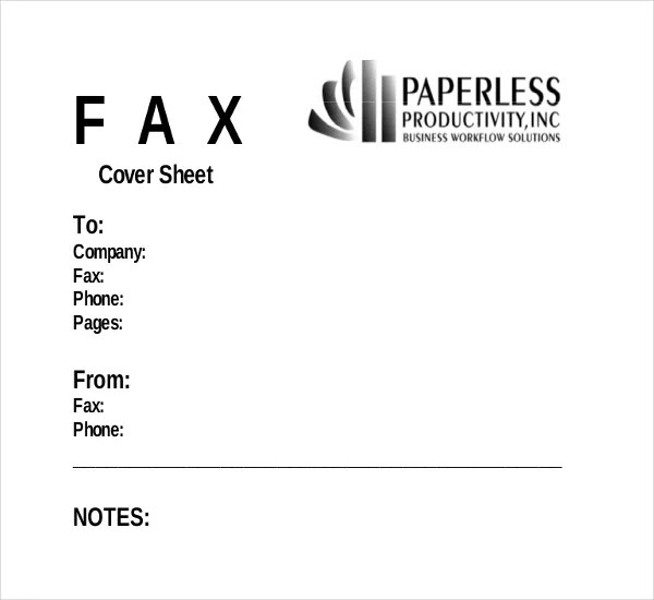 Fax Cover Template 9 Free Word PDF Documents Dwonload Free Amp Premium Templates