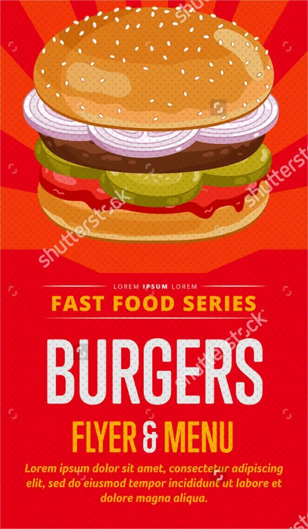 26 Burger Flyer Templates Word PSD AI EPS Vector Free Amp Premium Templates
