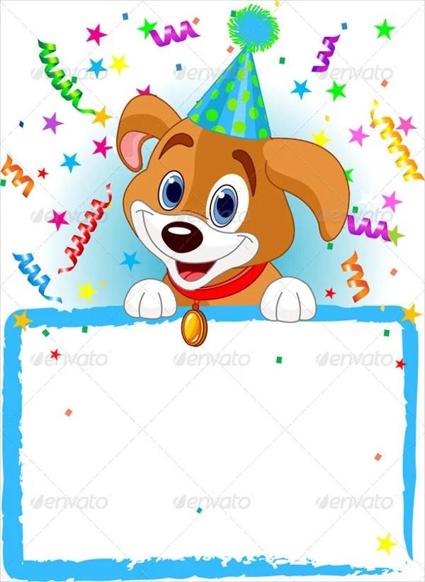 animal birthday invitation templates