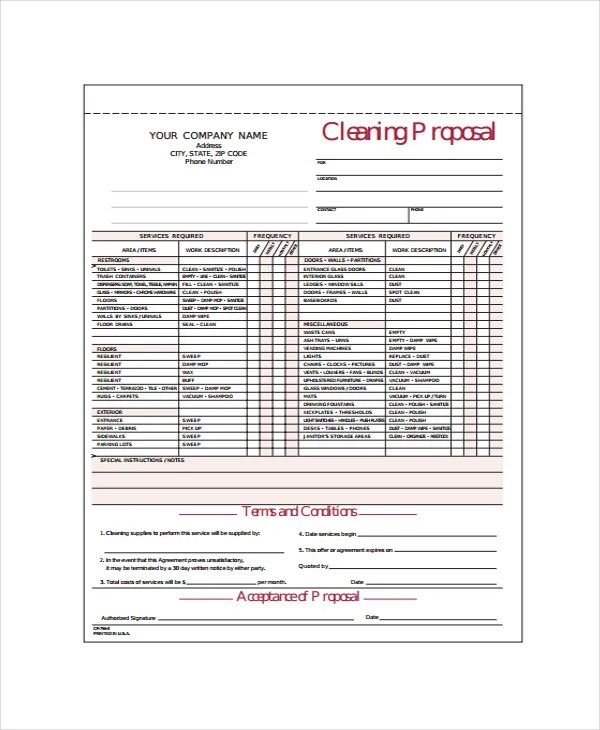 Swimming Pool Contract Template