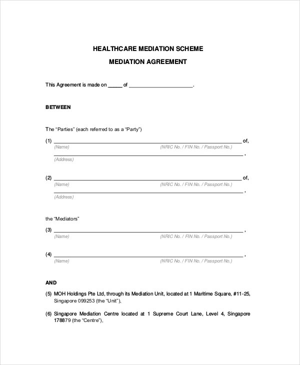To jog the memories of the individuals when they return to the workplace. 10 Mediation Confidentiality Agreement Templates Free Sample Example Format Download Free Premium Templates