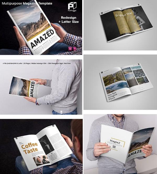 30 Creative Magazine Print Layout Templates For Free Free Premium Templates