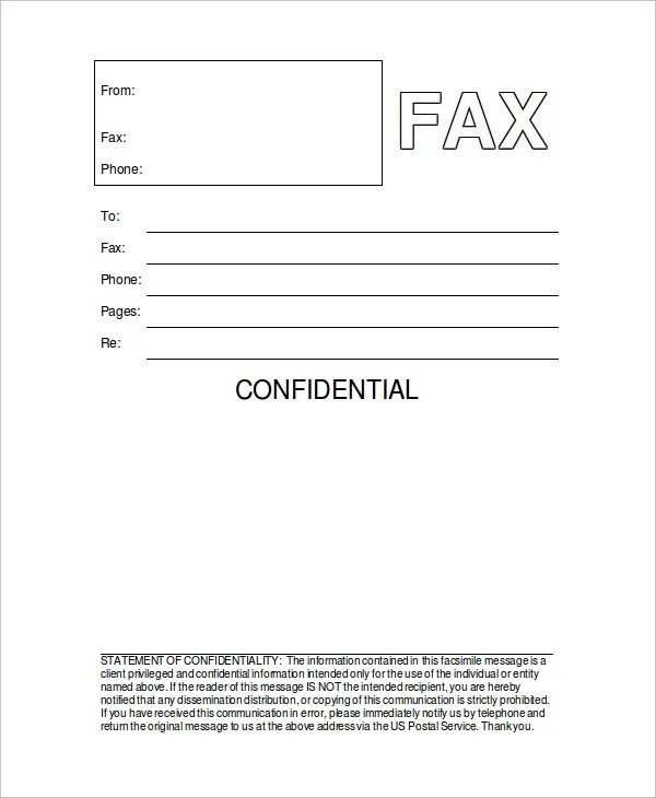 free fax document