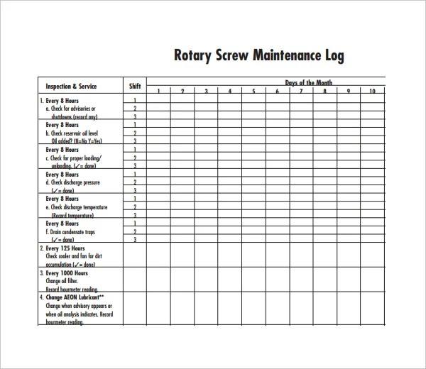 Security Equipment Checklist