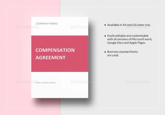 Compensation Plan Template   8  Free Word  Document Downloads   Free     Compensation Plan Template