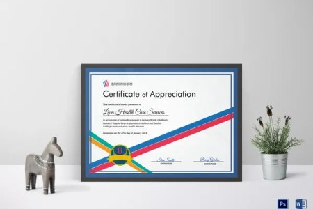 27  Certificate of Appreciation Templates   PDF  DOC   Free     Organization Certificate of Appreciation Template